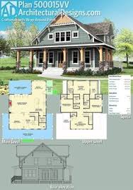 craftsman house plans with porches plan 500015vv craftsman with wrap around porch craftsman house