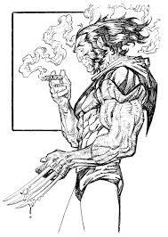 wolverine sketch by johnsonverse on deviantart