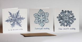science of snowflakes cards available soon we