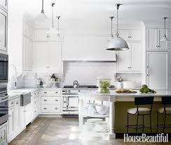 Pictures Of Kitchens With White Cabinets And Black Countertops White Kitchen Design Ideas Decorating White Kitchens
