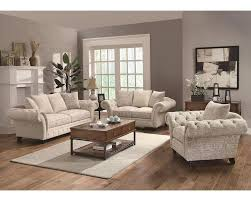 Traditional Fabric Sofas Coaster Traditional French Style Sofa Set Willow Co 503761set