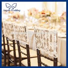 lace chair covers ch034b popular fancy white chiavari wedding embroidery ivory lace