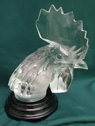bouchons de radiateur by lalique glass mascots ornaments
