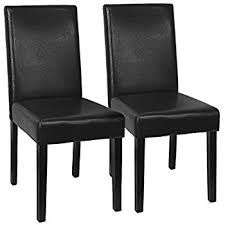 Parsons Dining Chair Amazon Com Xtremepowerus Urban Style Solid Wood Leatherette
