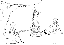 gideon bible story coloring pages coloring pages