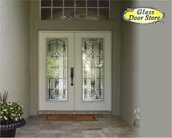 glass insert for front door marquise beveled traditional glass door