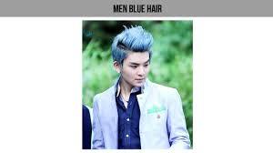 blue ash color hair color ideas for men youtube