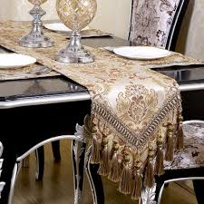 table runners for dining room table amazon com warm home modern jacquard floral table runner handmade
