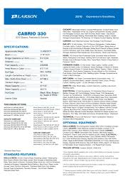 cabrio 330 larson pdf catalogues documentation boating