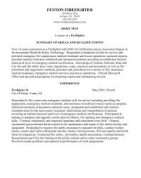 Custodian Sample Resume by Firefighter Resume Templates Firefighter Resume Examples