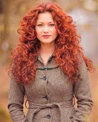 natural curly red hairstyles fade haircut