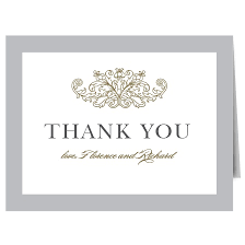 wedding thank you cards by basic invite
