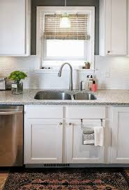 Penny Tile Kitchen Backsplash by 25 Best Kitchen Design Images On Pinterest Kitchen Ideas Small