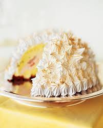 baked alaska martha stewart living an ice cream cake covered
