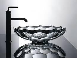 kohler briolette vessel faceted glass bathroom sink home