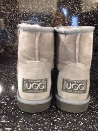 jumbo ugg boots sale jumbo ugg boots siz 7 grey in colour with tags in