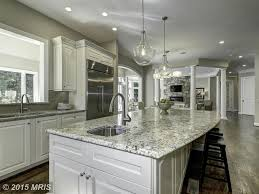 Crystal Kitchen Cabinets by Traditional Kitchen With Stone Tile U0026 Complex Granite Counters In