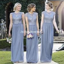 blue gray bridesmaid dresses sandi pointe library of collections