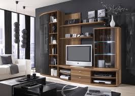 Wohnzimmerschrank Lack Wohnwände Nussbaum Schwarz Kostlich Wohnwande Wohnzimmer