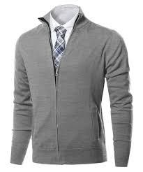 zip up sweater s zip up mock neck basic sweater cardigan top
