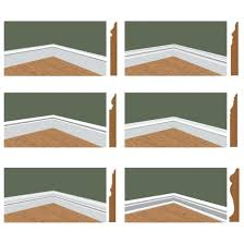 baseboard base moulding set 1 4 these profiles can be wood base moulding set 1 4 these profiles can be wood baseboard molding styles trim types bathroom