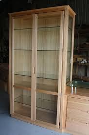 Cabinet Door Display Hardware Mid 20th Century Hanging Display Cabinet With Glass Doors Regard