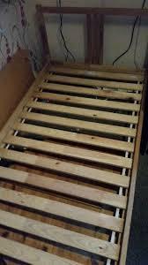 lade wood ikea sultan lade wood singiel bed in paisley renfrewshire gumtree