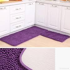 tapis de cuisine violet tapis violet salle de bain tapis de cuisine salon chambre à manger