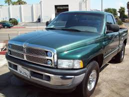 used dodge 1500 trucks 2001 used dodge ram 1500 truck color green for sale in san diego