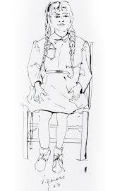persona seduta dwg disegno ragazza di spalle disegno della ragazza in un costume da