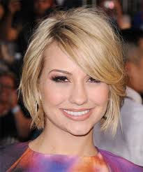 chelsea kane haircut back view chelsea kane short straight casual bob hairstyle with side swept