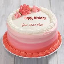 write name on birthday cake cake decorating pinterest