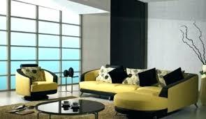 canape jaune cuir canape cuir jaune canape jaune cuir peinture salon gris et jaune