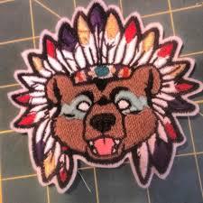 native spirit bear patch furry