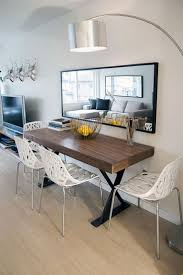 Small Kitchen With Dining Room Dining Table For Apartment Living Small Dining Table With Bench