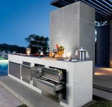 cuisine exterieure beton cuisines cuisine jardin beton deco la cuisine extérieure quand