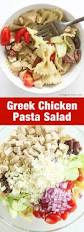greek chicken pasta salad cold pasta salad recipe