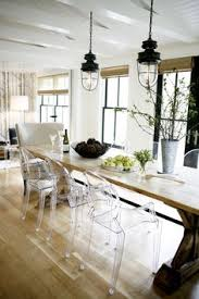 Dining Room Chairs Ikea Tobias Ikea Ghost Chair In Modern Dining Room Http Lanewstalk