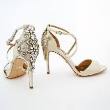 wedding shoes badgley mischka badgley mischka karmen ivory wedding shoes wedding sandals