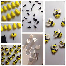 bumble bee cupcakes bumble bee cupcake toppers