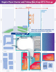 South Coast Plaza Map Getting To Rogers Place