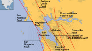 Map Fault Lines United States by Two Faults U0027holding Hands U0027 Could Unleash Massive Earthquake In
