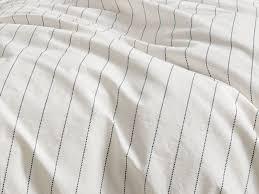 stitch stripe duvet cover set parachute home