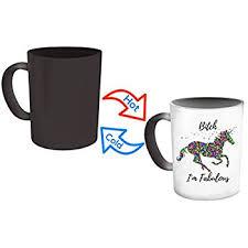 amazon thumbs unicorn mug color changing multicolor