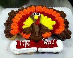 thanksgiving cupcakes thanksgiving turkey cupcake cake