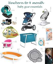 newborn essentials essential baby gear for newborn to 4 month olds pearls on a string