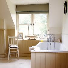 Evoking The Antique Cottage Charm Of An English Country Estate The - Modern country bathroom designs