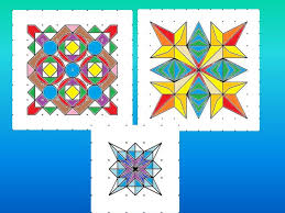 rangoli patterns using mathematical shapes symmetry in rangoli patterns by bdsouza1 teaching resources tes