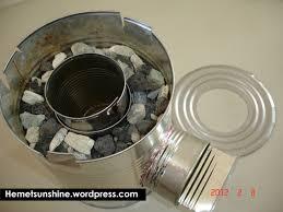 inside a tin can rocket stove hemet sunshine