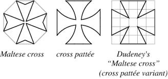 maltese cross from wolfram mathworld